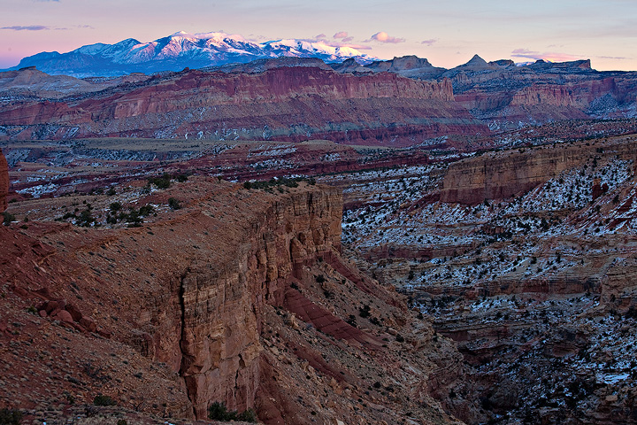 Capitol Reef,Utah,Sunset Point, photo