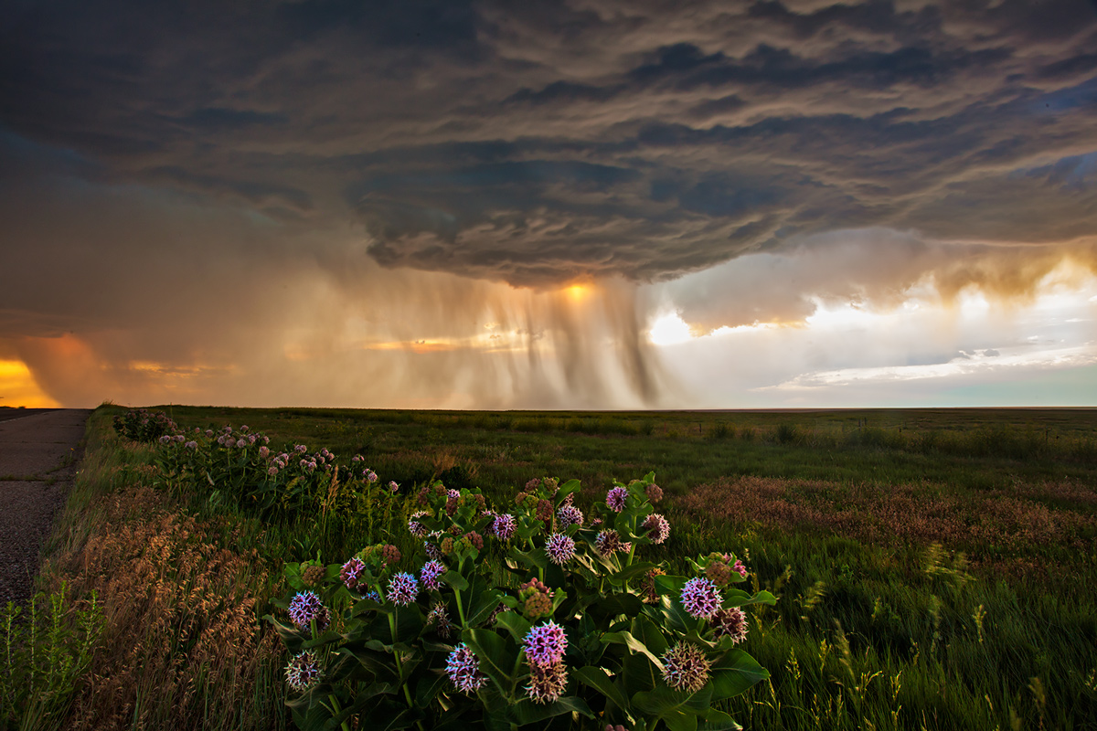 Last Chance, Colorado, supercell, photo