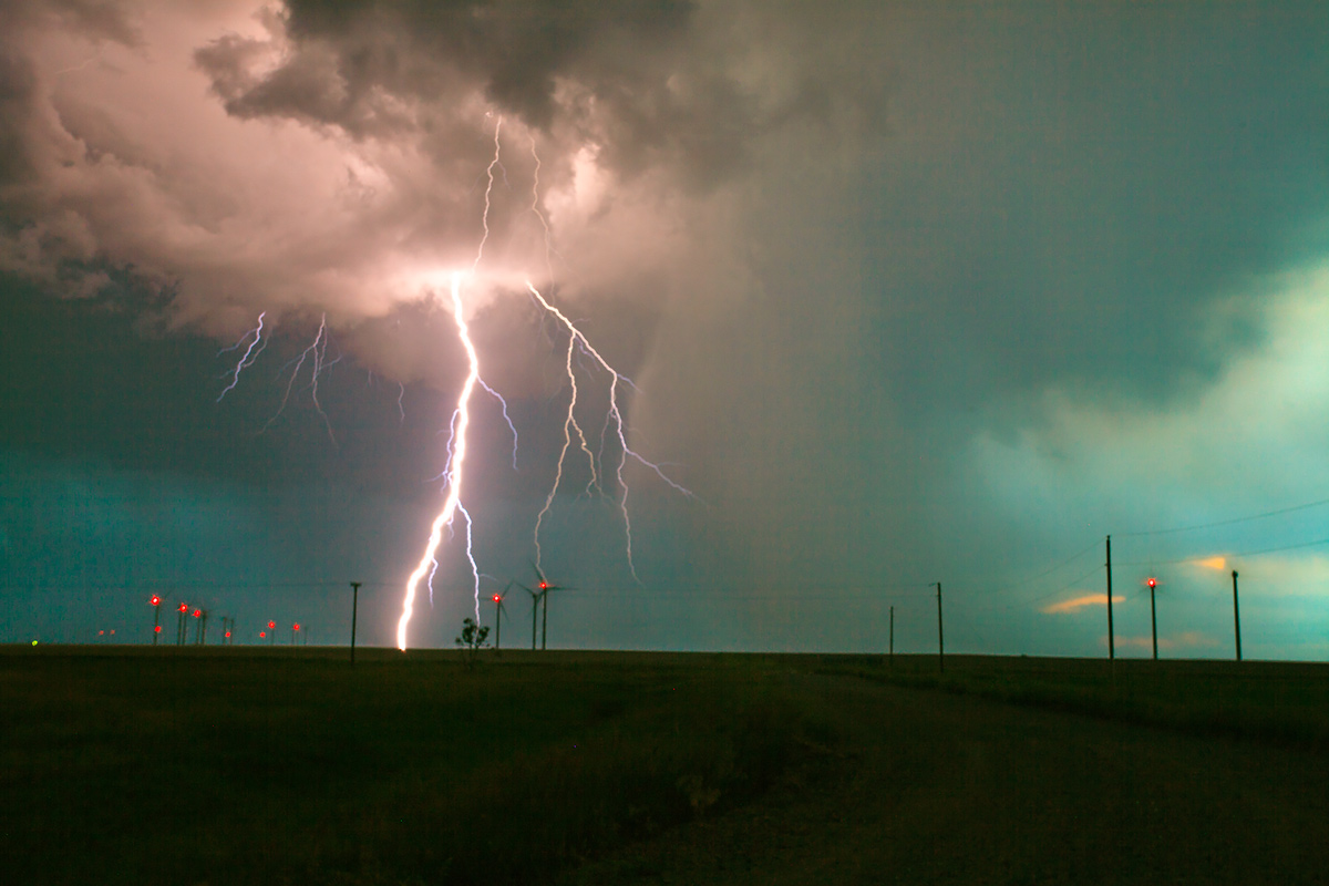 storm, Last Chance, Colorado, photo