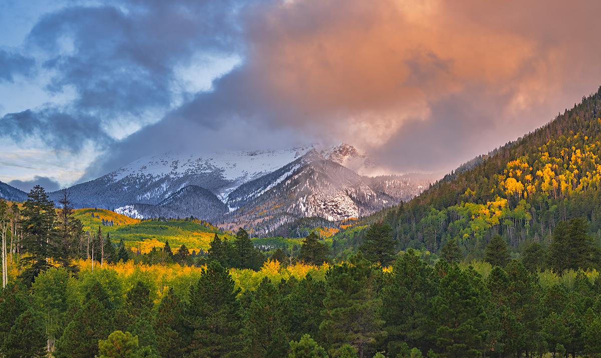San Francisco Peaks, Lockett Meadow, Flagstaff, Arizona, photo