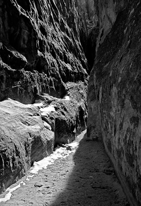 slot canyon,Capitol Reef,Utah, photo