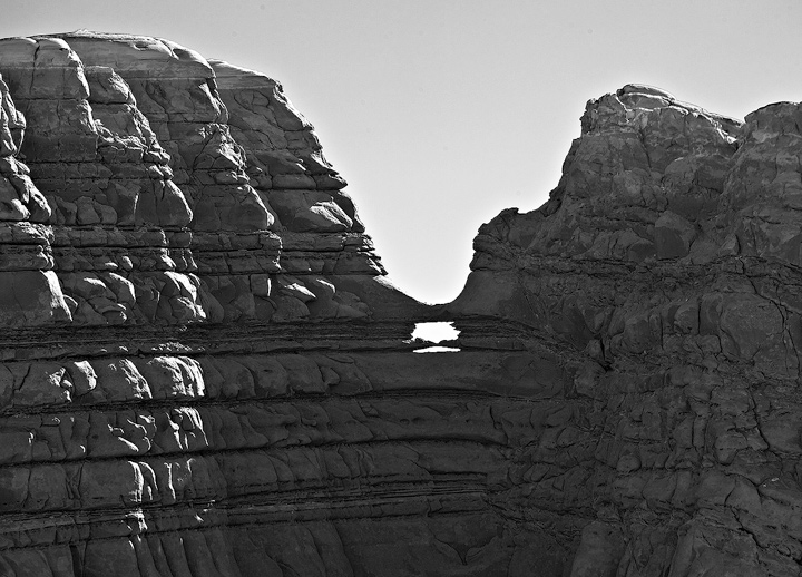 Formations from the Highway, on the road to Escalante, Utah