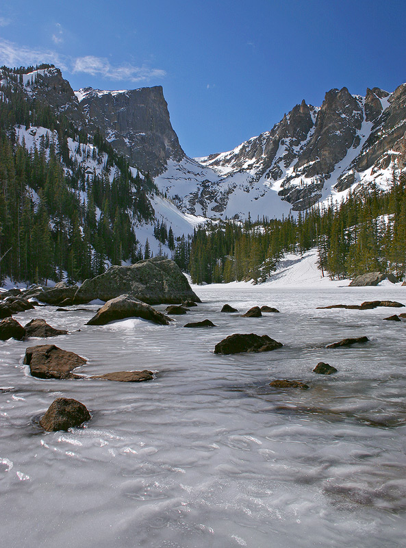 Dream Lake,Rocky Mountain,Colorado, photo