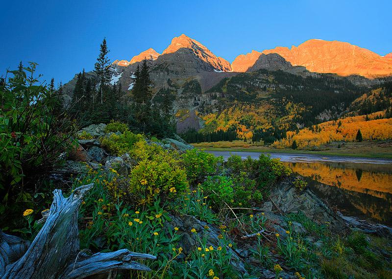 Aspen,Maroon Bells,Crater Lake,Colorado, photo