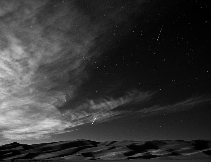 Great sand dunes,Perseid,Colorado, photo
