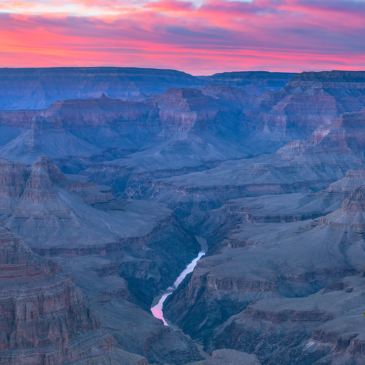 Pima Point, Grand Canyon, south rim, sunset, Arizona, photo