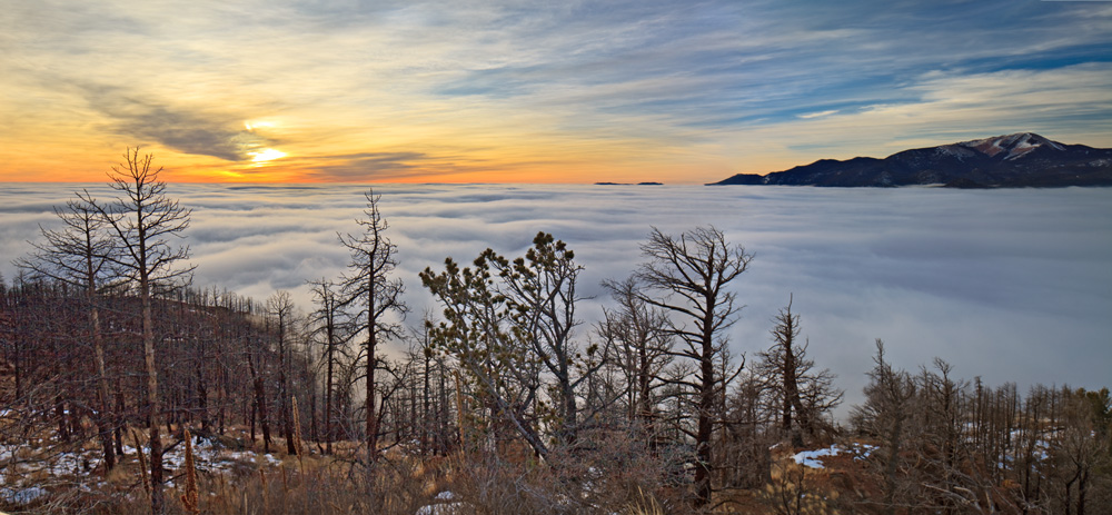 Waldo Canyon,sunrise,Colorado, photo