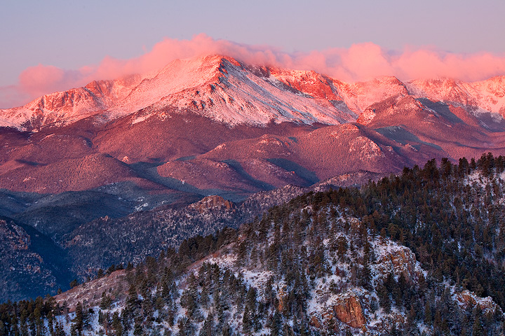 Pikes Peak,Rampart Range,Colorado, photo