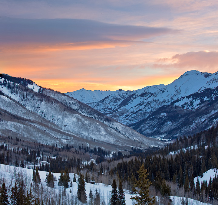 Red Mountain Pass,Colorado,sunrise, photo