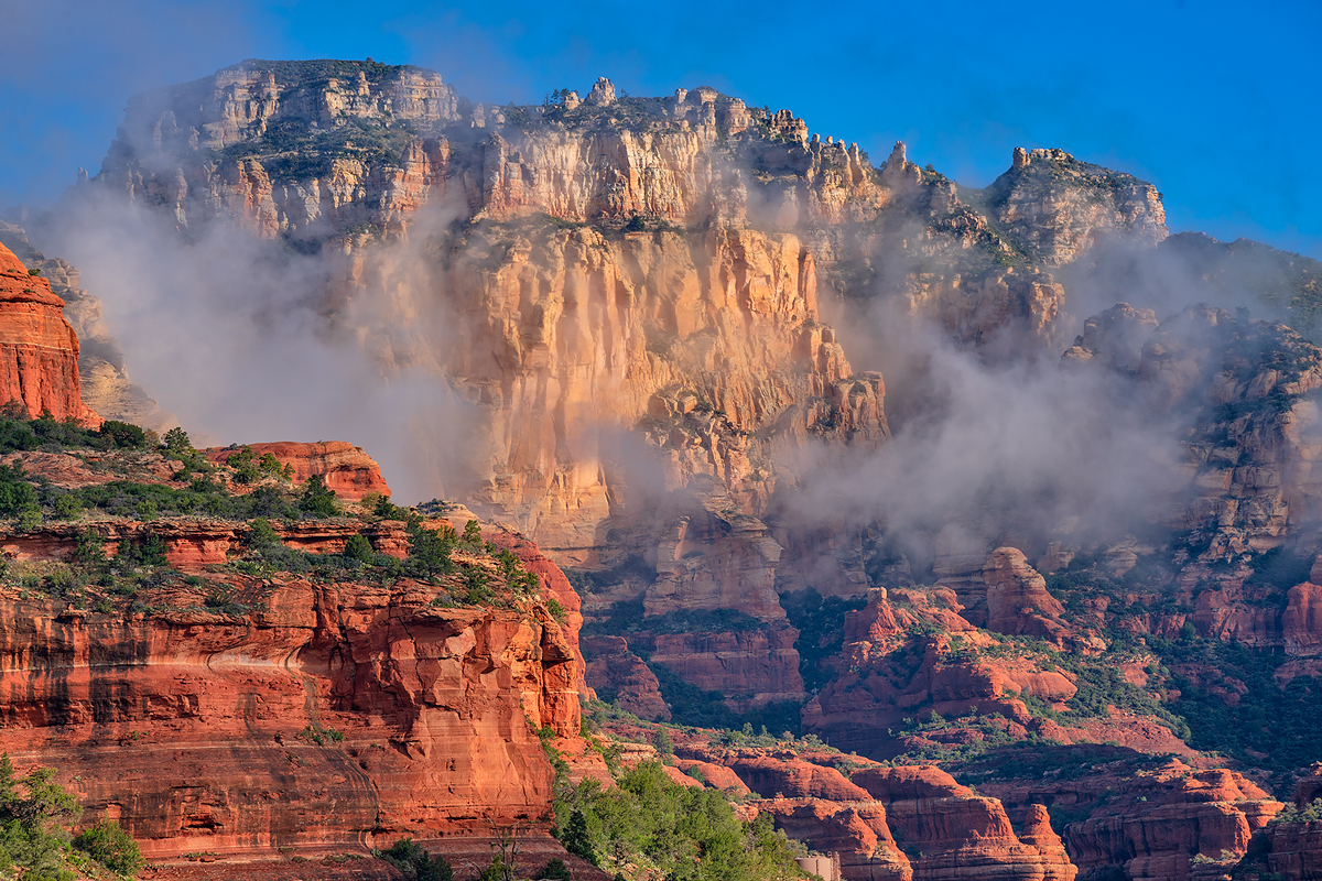 fog,boynton Canyon-Sedona, photo