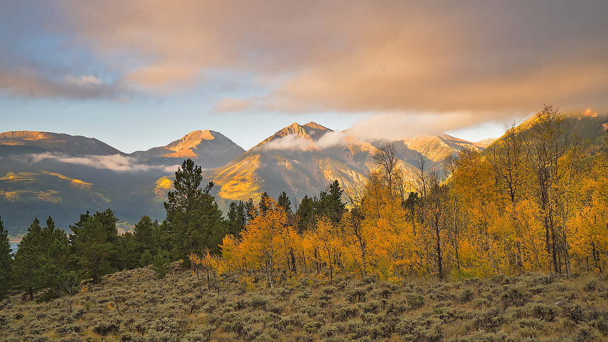 sunrise,Elbert,Twin Lakes,Colorado, photo