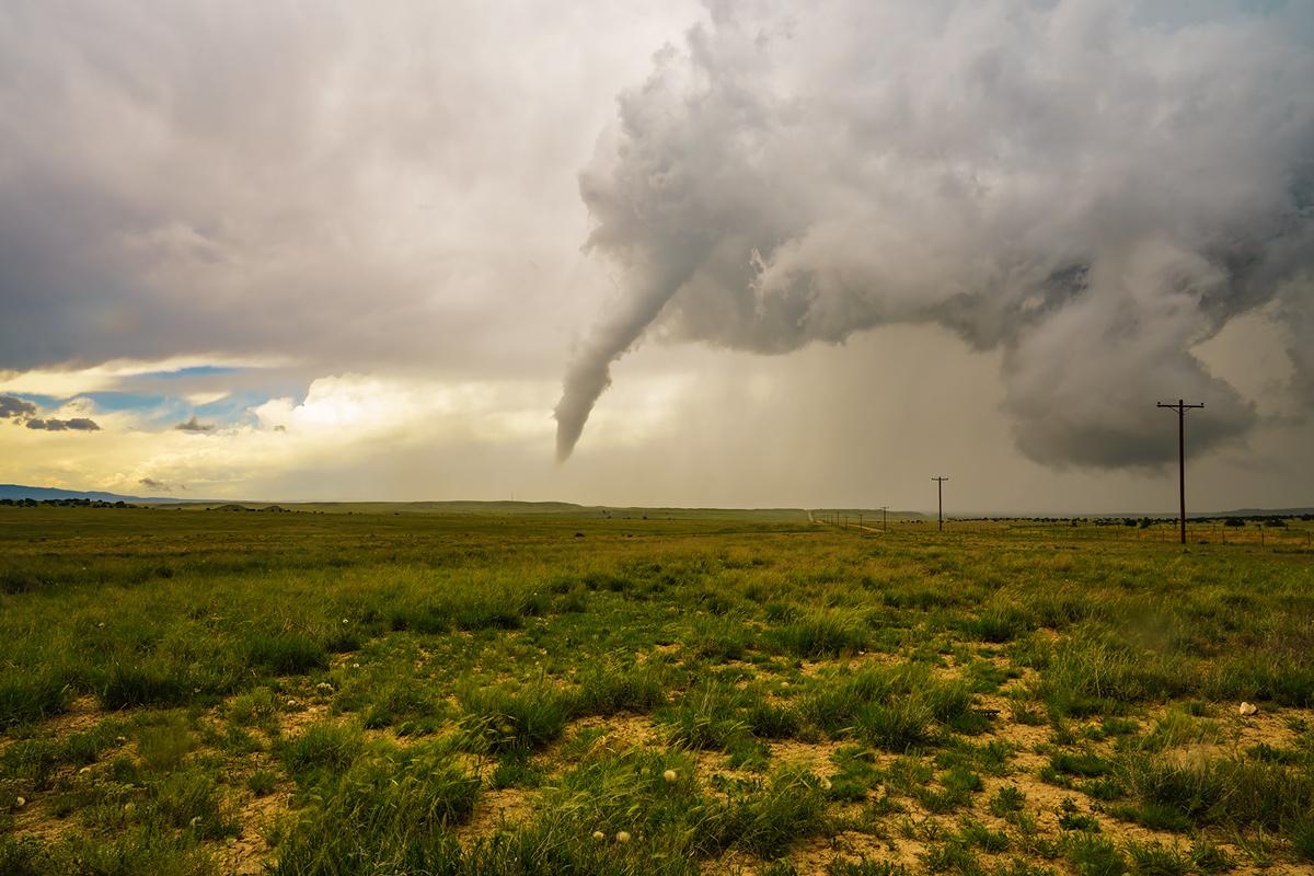 Trinidad, tornado, Colorado, photo