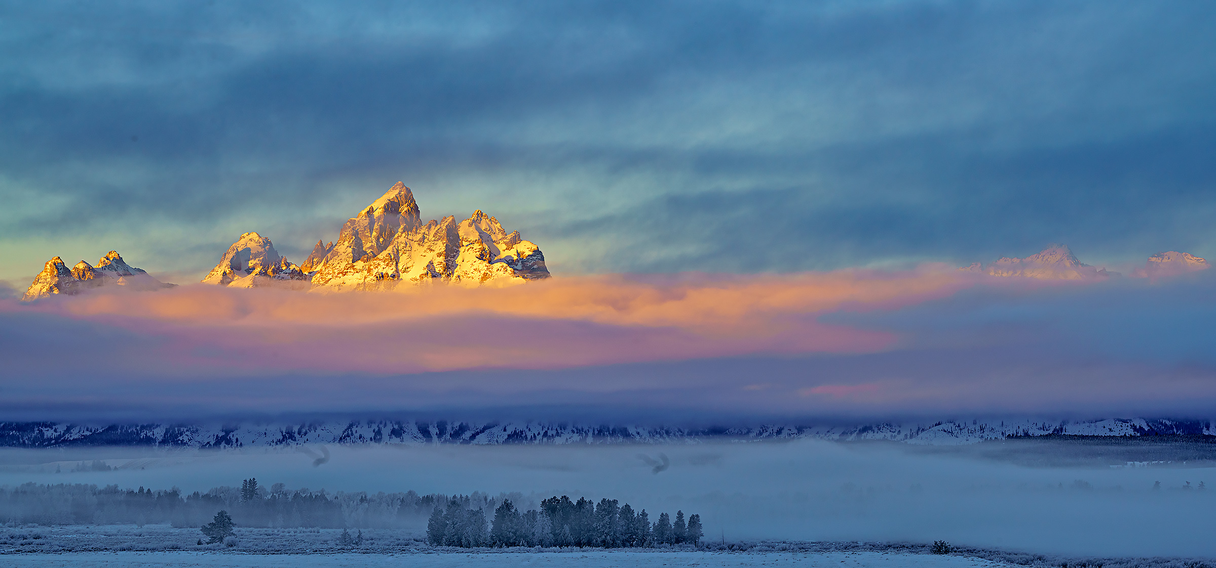 Grand Teton,Wyoming,sunrise,panorama, photo