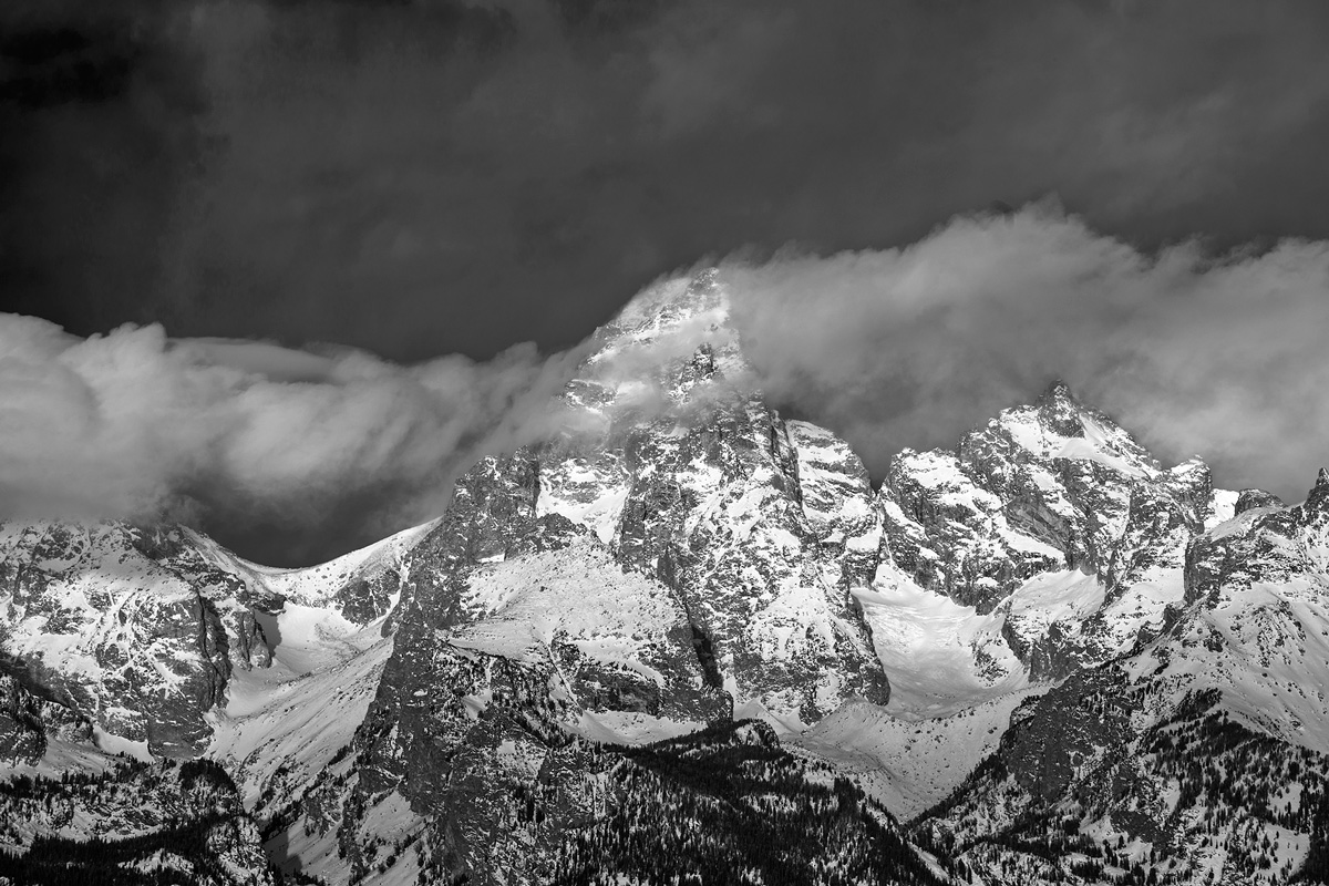 Grand Teton,Wyoming,storm, photo