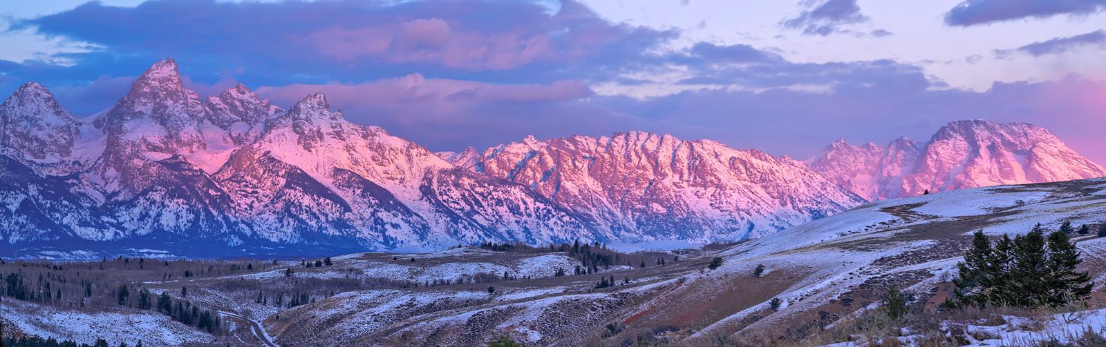 Grand Teton,Wyoming,sunrise,Gros Ventre, photo