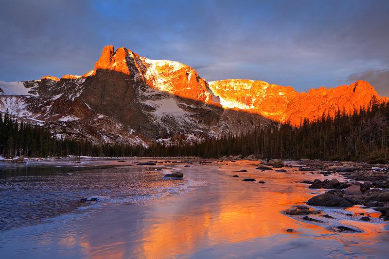 Two Rivers Lake,Rocky Mountain National Park,Colorado, photo