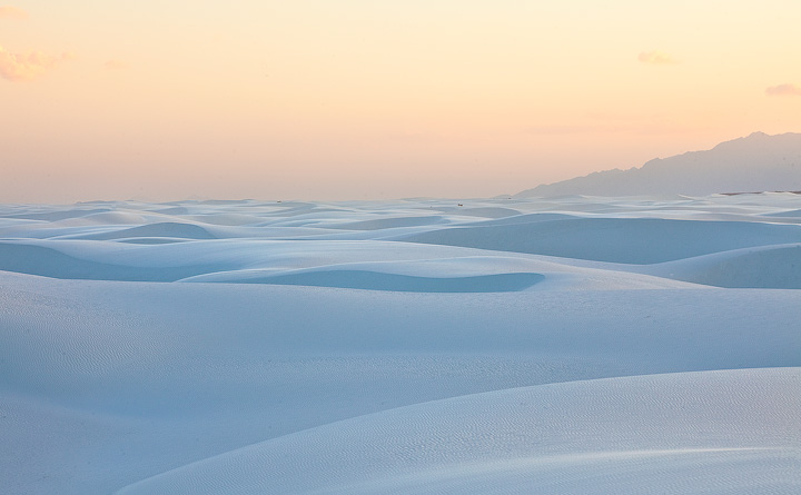 white sands,New mexico,pastel