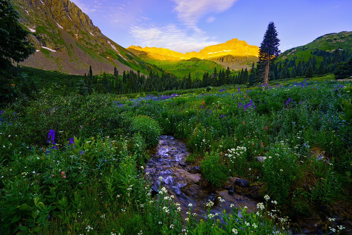 San Juans, Yankee Boy Basin, Colorado, photo