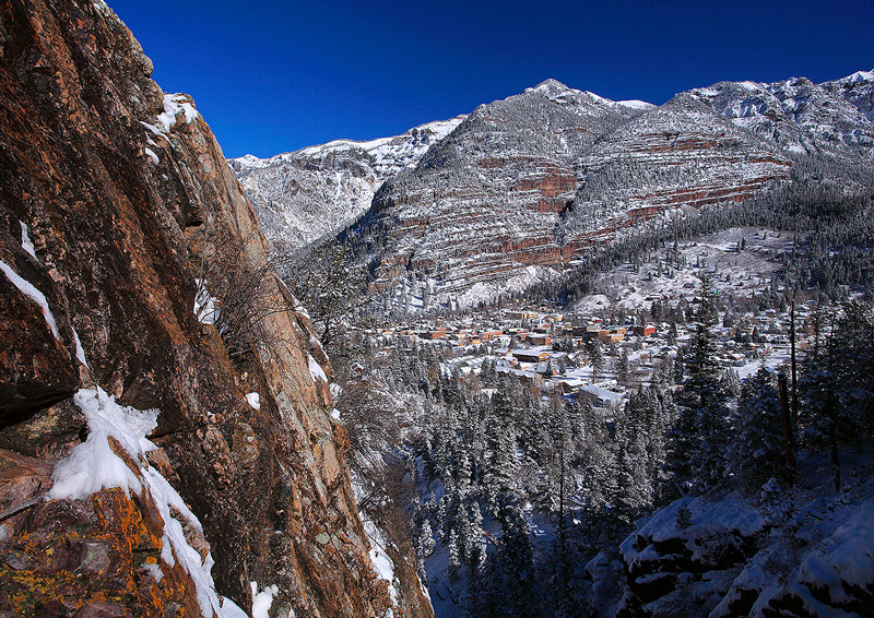 Ouray,Box Canyon,Colorado, photo