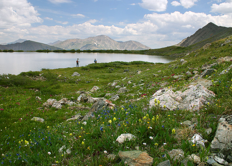 Ptarmigan Lake,Cottonwood Pass,Colorado, photo