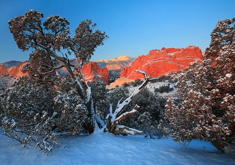 Pikes Peak,Garden of the Gods,Colorado, photo
