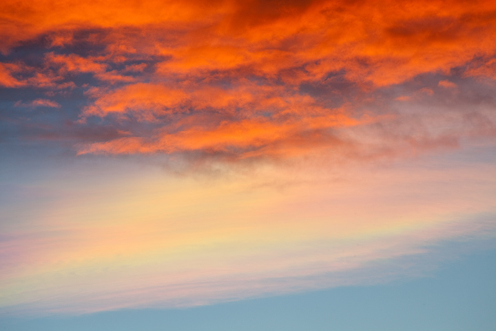 clouds,New Mexico,Maxwell,iridescent, photo