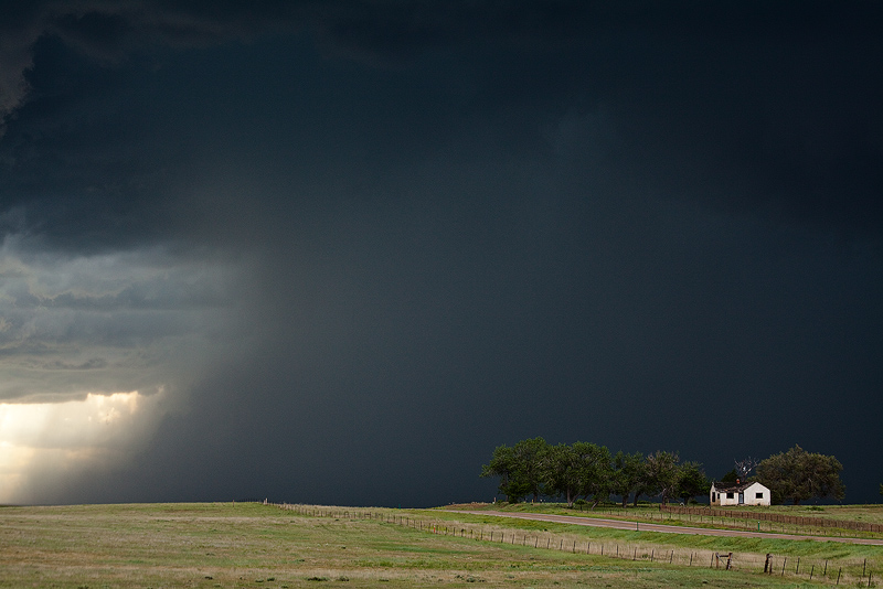 Supercell Thunderstorm, Calhan, CO.