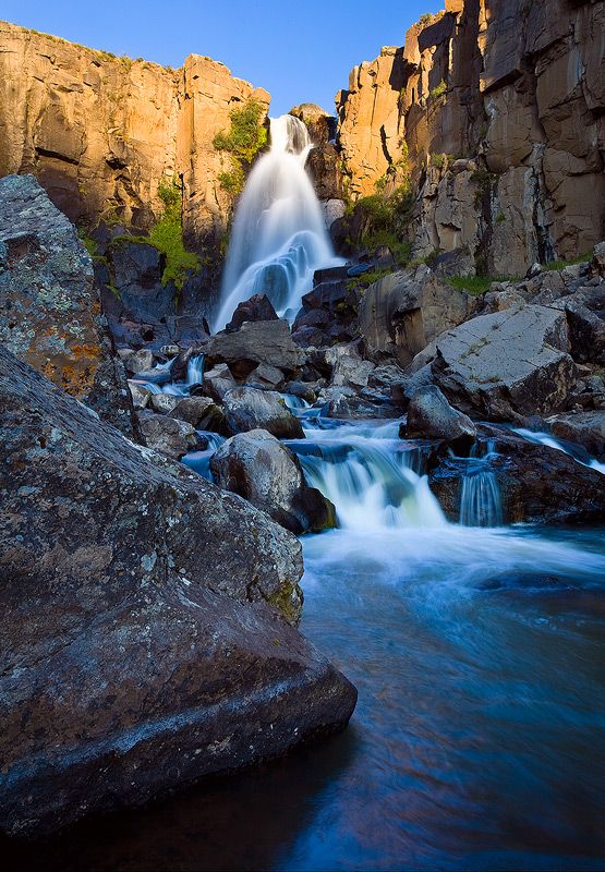 falls,sunrise,Colorado,Creede, photo