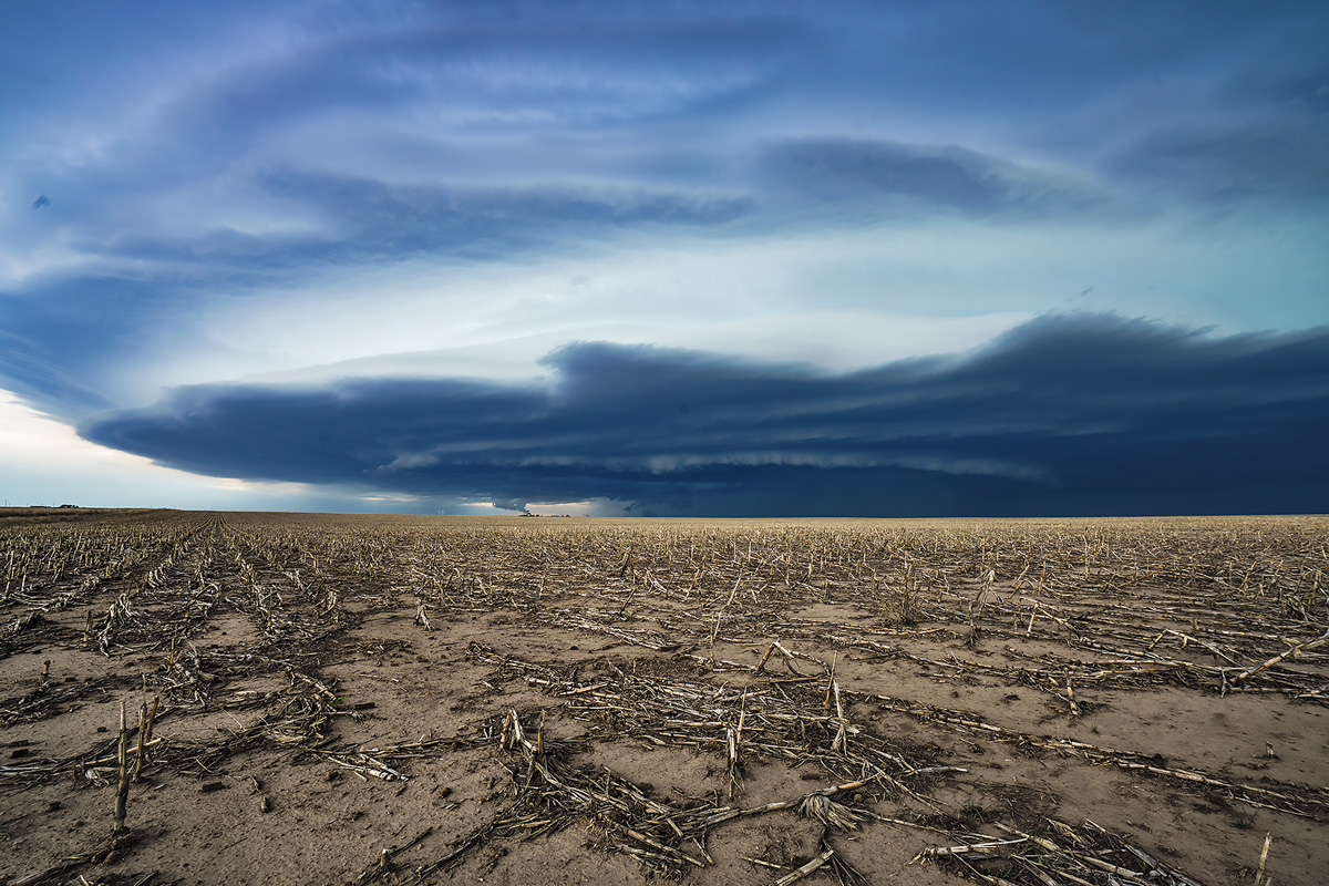 supercell, field, Cope, Colorado, photo