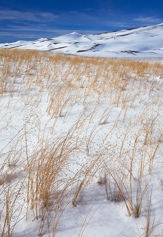Sands and Snow, Great Sand Dunes NP