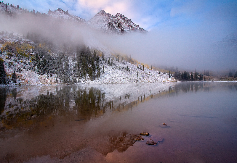 Maroon Bells,Colorado, photo