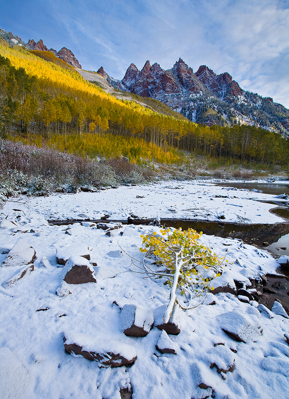 Sievers,Maroon Bells,Aspen,Colorado, photo