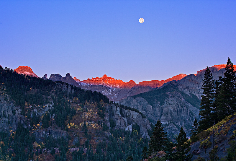 Ouray,Colorado,Sneffles, photo