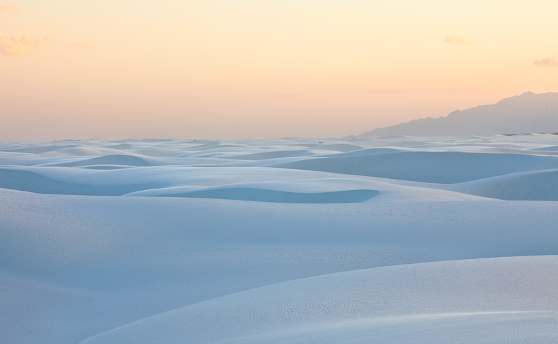After my first trip to White Sands a few years back, I vowed to return to get a shot that exemplifies the magic of that place...