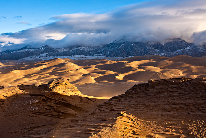 Great Sand Dunes,Colorado,High Dune, photo