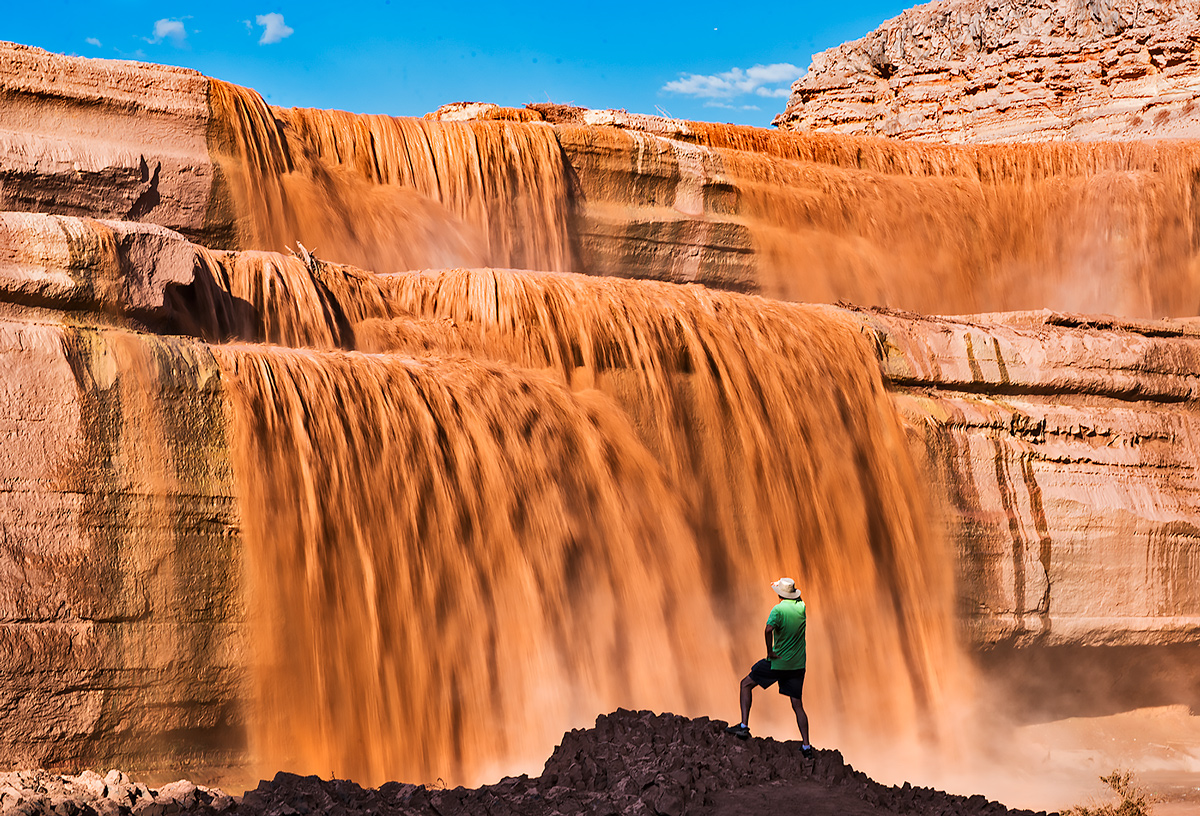 Grand Falls, Little Colorado, photo