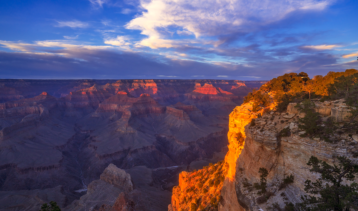 Pima Point, Grand Canyon,south rim,sunset, photo