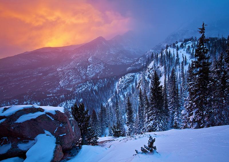 Bear Lake,Rocky Mountain,Colorado, photo