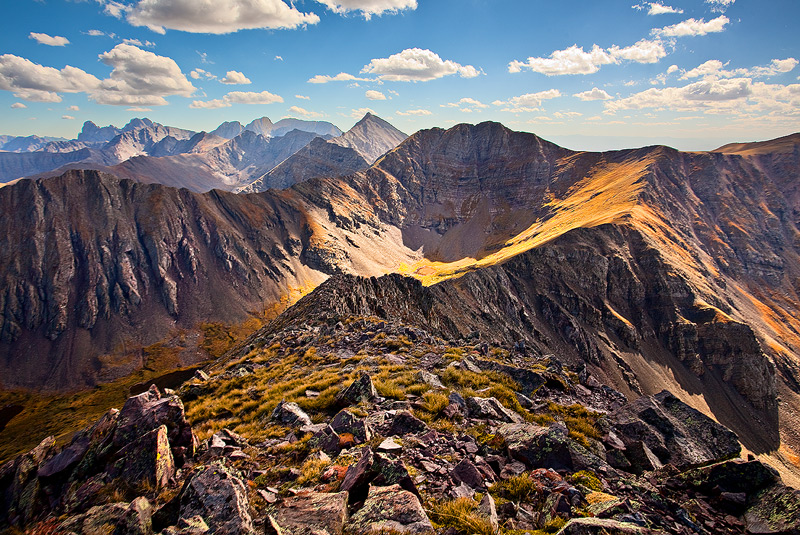Horn Peak,Sangre,Colorado, photo