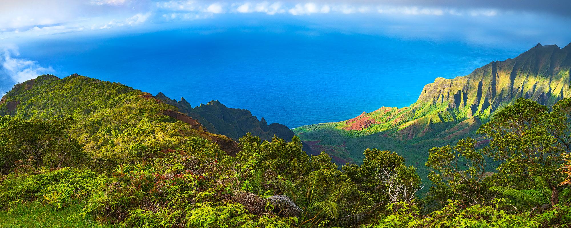 Kalalau Lookout,Kauai,Hawaii,Napali,sunset, photo