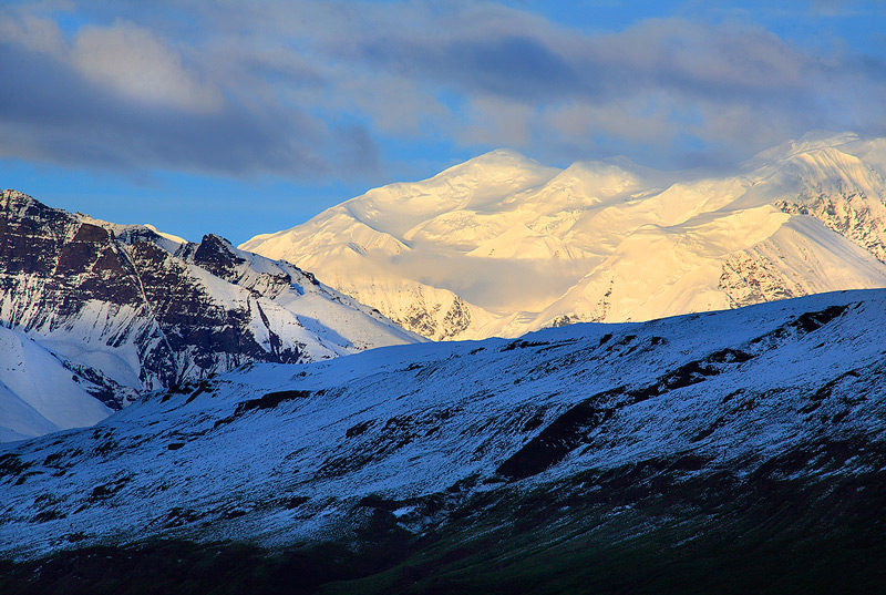Wrangell mountains,Alaska,Skolai, photo