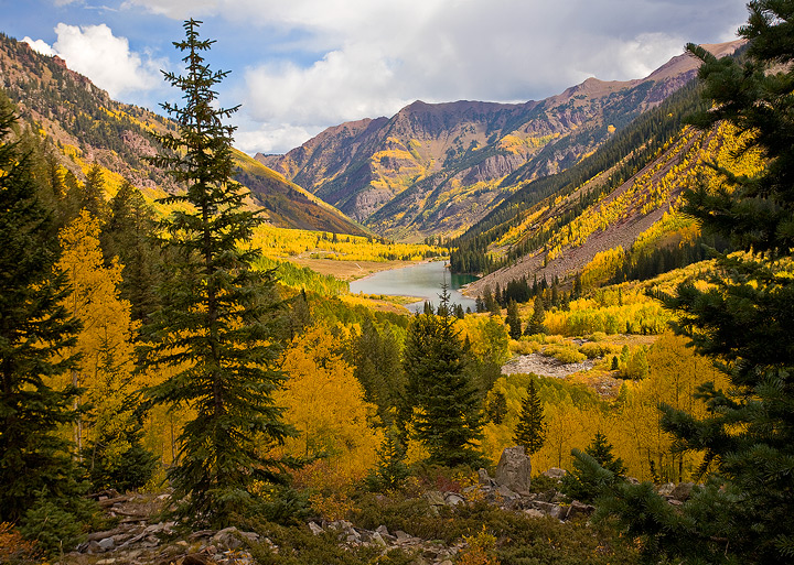 Maroon Lake,Colorado,Aspen, photo