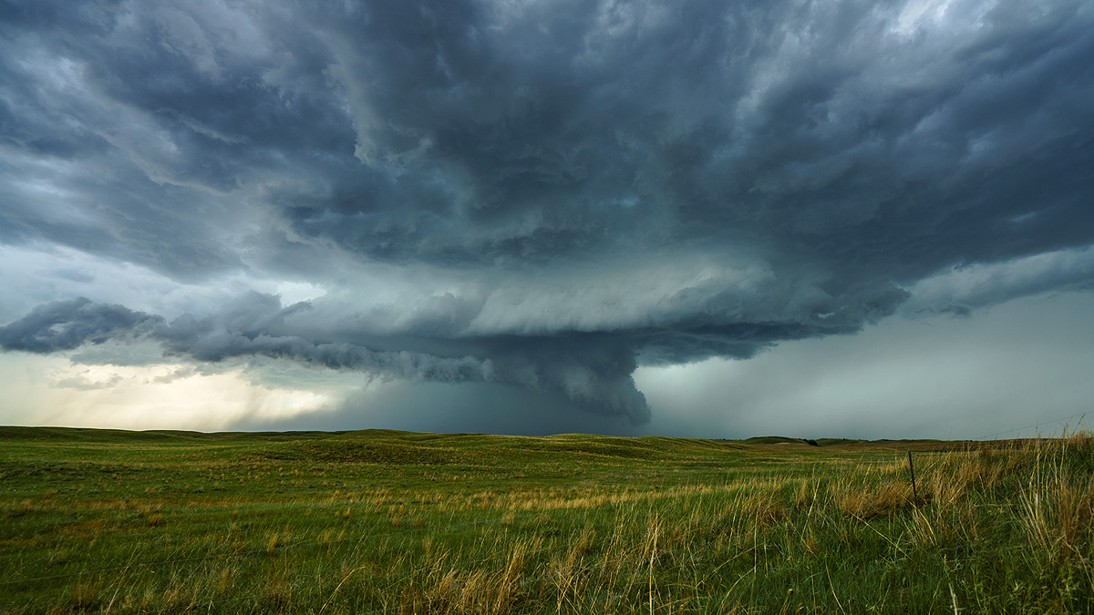 Nebraska, supercell, thunderstorm, photo
