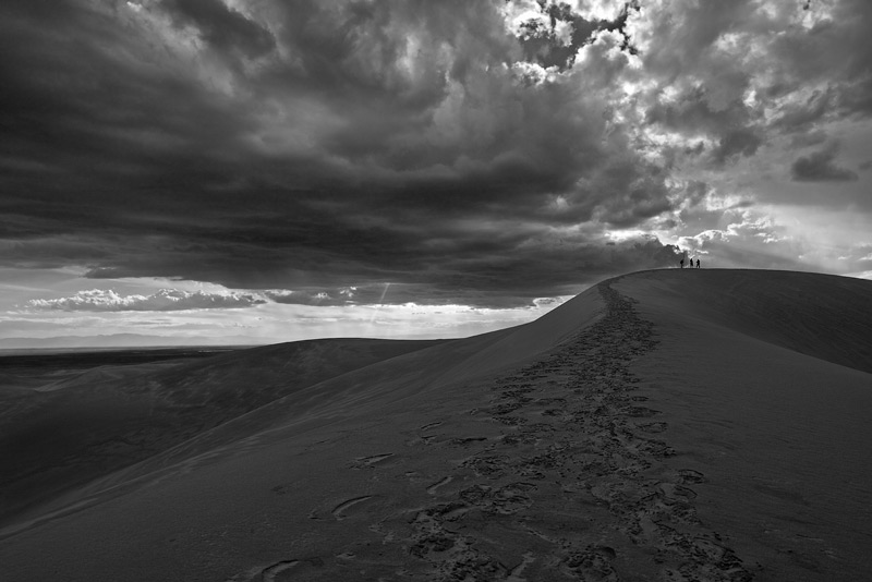 Great Sand Dunes,High Dune, photo