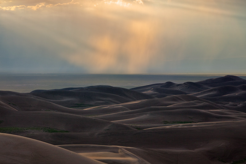 Great Sand Dunes,Colorado,High Dune.sunset, photo