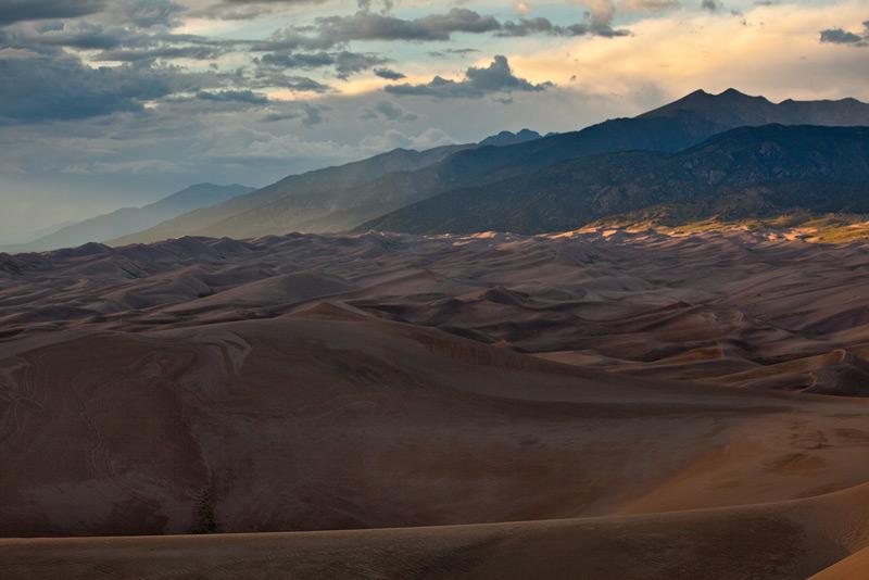 monsoon,Great Sand Dunes,Colorado, photo