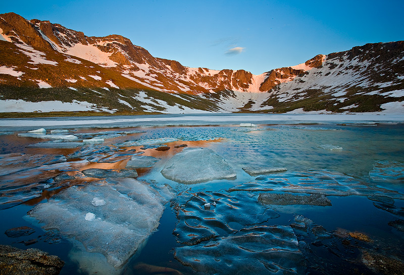 Mount Evans,Summit Lake,Colorado, photo