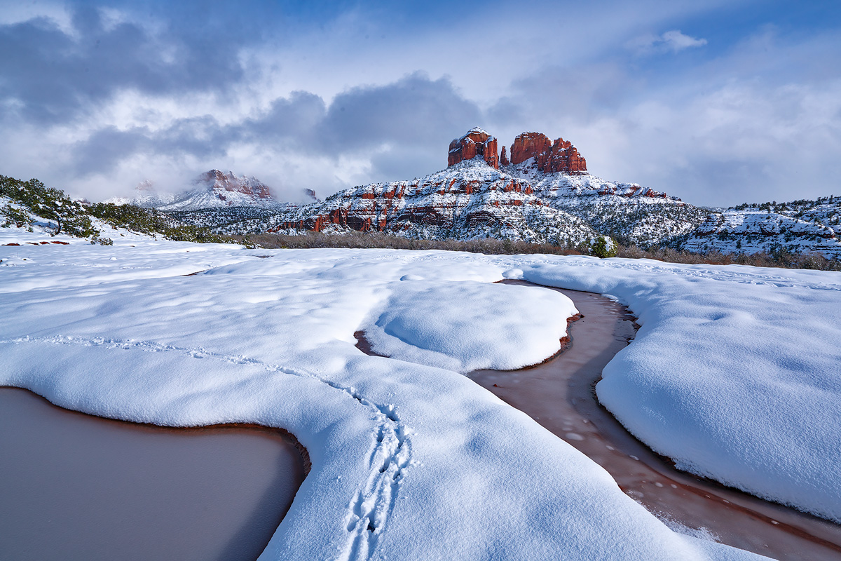 Sedona,winter, photo