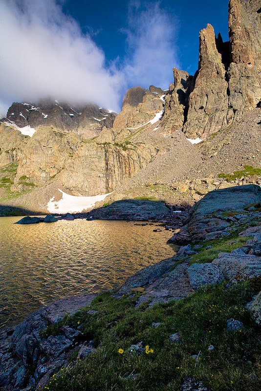 Sky Pond,Rocky Mountain,Colorado, photo