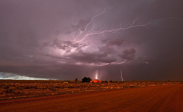 Pueblo,monsoon,lightnin,Colorado, photo
